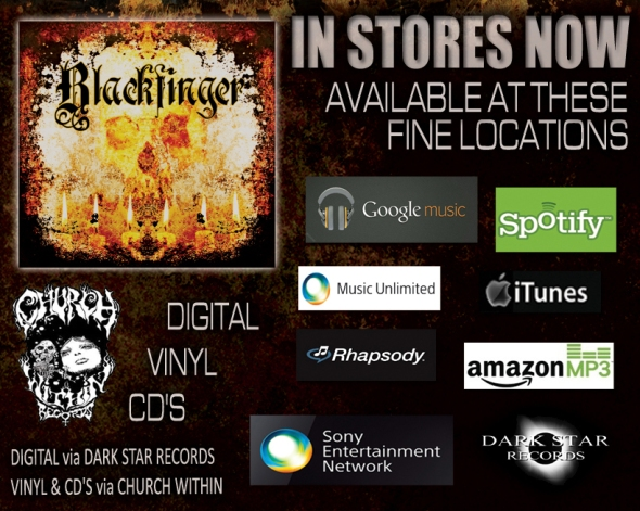 Blackfinger In Stores Now